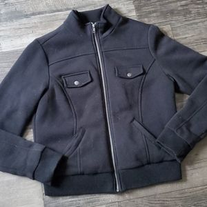 Vintage I.B. Diffusion Zip Front Moto Style Jacket